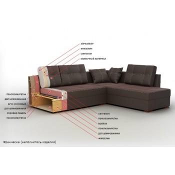 Угловой диван Франческа