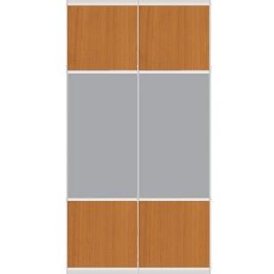 Разделение фасада на три части