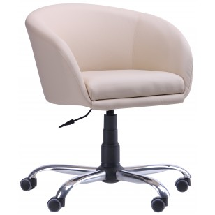 Кресло Дамкар Хром Неаполь N-17 на роликах