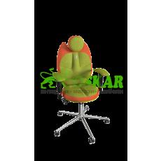 Кресло TRIO(оранжево-оливковый)