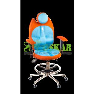 Кресло TRIO(ан тара, морковный)